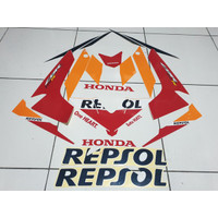 Striping Lis Stiker Honda New CBR 150 R Led Repsol 2018 2019
