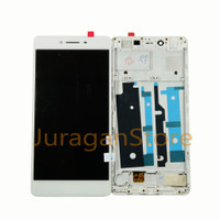 PLUS TOUCHSCREEN FRAME ORIGINAL R7SF R7S LCD 1SET COMPLETE OPPO