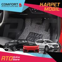 Karpet Mobil Comfort Premium Jeep Wrangler 4 Doors - Dark Grey, BAGASI