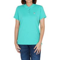 Hush Puppies Polo Shirt Wanita Arvida In Blue