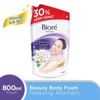 Biore Body Foam Relaxing Aromatic Refill 800 Ml