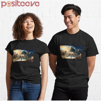 Kaos Premium Picture From The Game Assassin Creed Origins 130 T-Shirt