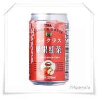 Famous House Apple Black Tea Drink 320ml