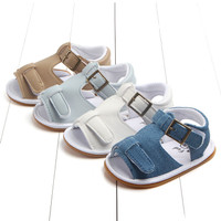 Summer Infant Toddler Baby Soft Rubber Sandals PU Shoes First Walke 1o