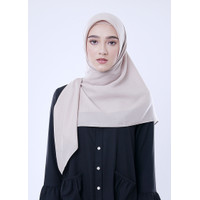 Kerudung Zoya Hijab Segiempat - Casual Sparkling Scarf Polyspun
