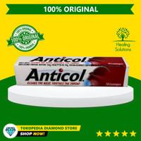 Original Anticol Throat Lozenges isi 10 Permen Pelega Tenggorokan