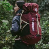 - Tas Rain Daypack Free Hiking - Cover 50L Gunung Outdoor - Backpack R