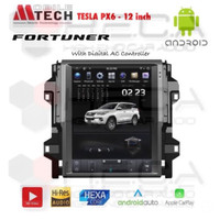 AUDIO MOBIL MTECH TESLA PX6 TOYOTA FORTUNER 12INCH ANDROID HEAD UNIT