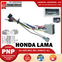 Kabel Audio Soket PNP HeadUnit Android Honda Lama Freed Jazz Civic HRV