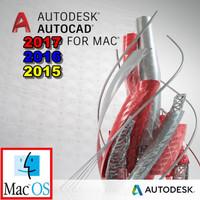 [ PROMO ] AutoCad 2017 / 2016 2015 MAC OS X Full Versi DVD Software