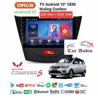 AUDIO MOBIL HEAD UNIT ANDROID 10 INCH RAM 2 GB ROM 32 GB WULING