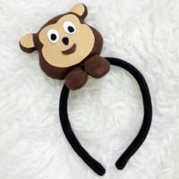 Bando Bandana Boneka Monyet Pisang Kostum Monkey Banana Hewan