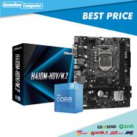 Paket ASROCK H410M-HDV/M.2 Plus I3 10105F BOX Intel