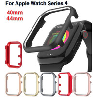 Apple Watch Series4 Bumper Protection Metal Frame Soft Shell Alloy