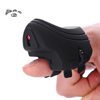 GM306 Mini Wireless Finger Ring Mouse Rechargeable USB Flexible Mic 7p