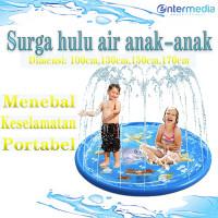 Mainan children baby play water playground anak trampolin anak mainan