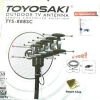 Antene Antena TV Remote Kabel 10m Jek Toyosaki TYS 888SC Keren