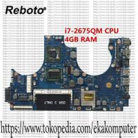 Samsung NP700Z5A Laptop Motherboard With SR02S i7-2675QM CPU 4GB RAM B