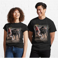 Kaos Arena Angles Rodeo Bull Fighters 278 Unisex T-Shirt