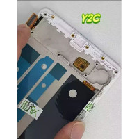 Promo LCD OPPO R7S / R7SF + FRAME FULLSET WHITE TERLENGKAP LENGKAP