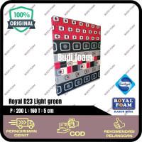 Jual ROYAL FOAM Kasur Busa Royal size 200 x 160 x 5 cm Diskon