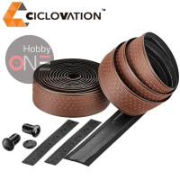 CICLOVATION Advanced Bar Tape with Grind Touch - CHOCOLATE BROWN