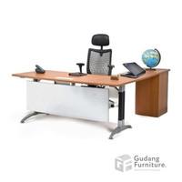 Meja Kantor Direktur / Meja Kantor Manager Aditech NFD09i