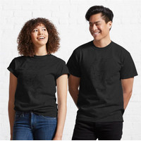 Kaos Cat And Mouse Bff Black Outline 864 Unisex T-Shirt