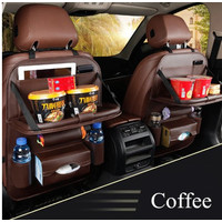 Daihatsu Sigra Car Seat Back Cover Organizer Tas Leather Meja Lipat