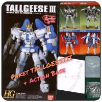 Original Bandai Gundam hg HGFA Tallgeese III 1:144 Scale Gunpla Murah