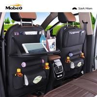 Suzuki APV Luxury Car Seat Cover Organizer Tas Leather Meja Lipat