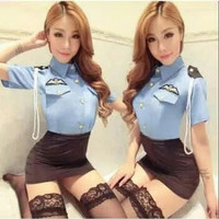 TBI Import Sexy Import Cosplay Lingerie Polisi Sexy Adult Police Baju