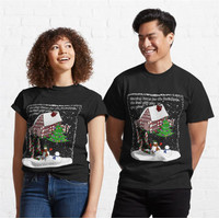 Kaos Snowman Homecoming For The Holidays 696 Unisex T-Shirt