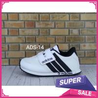 BEST SELLER Adidas Laki Garis 37 Perempuan Hitam Sepatu Anak 24- Putih