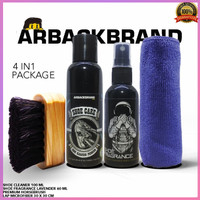 Promo shoe cleaners arback 4 in 1 horse brush
