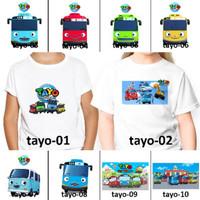 ANAK custom FREE MOTIF DEWASA NAMA TAYO couple Kaos BUS Baju BANYAK HE