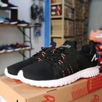 Jual Sepatu Running Lari Specs Prelude Black Original Berkualitas