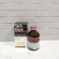 ORIGINAL V-tropin/atropin injeksi untuk hewan 50 ml ASLI