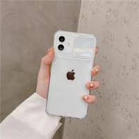 Case Iphone 6 7 8 Plus Clear Camera Slide Anti Crack Casing Transparan - CLEAR, IPHONE 7/8 PLUS