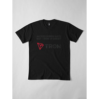 Kaos Premium Tron Cryptocurrency Haters Gonna Hate 4950 T-Shirt