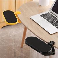 W Rest Meja Triple Sandaran Computer Arm Kerja Tangan Mouse Table