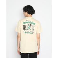 Kaos Pria Erigo T-Shirt Champions Heart Cotton Combed Cream