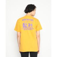 Kaos Pria Erigo T-Shirt Veteran Cotton Combed Mustard