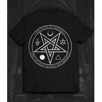 New Baju kaos Distro Witchy Satanic Goth Clothing Gothic