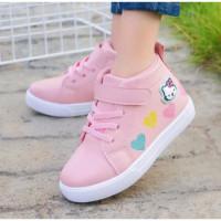 Anak Sepatu Perempuan Umur Kitty Hello 2-5 Love Boots Tahun