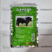 Gayemi obat herbal penambah nafsu makan kambing domba sapi kerbau