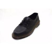 Sepatu Boots Pria Docmart Pendek Hitam Cokelat Maroon