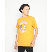 Kaos Pria Erigo T-Shirt Goat Cotton Combed Mustard