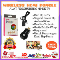 [ ] WIRELESS HDMI DONGEL ANYCASH MIRACAST DONGLE RECEIVER TV HDMI