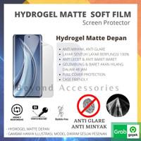 ANTI GORES HYDROGEL MATTE Xiaomi Redmi Note 5 Pro DEPAN FULL COVER